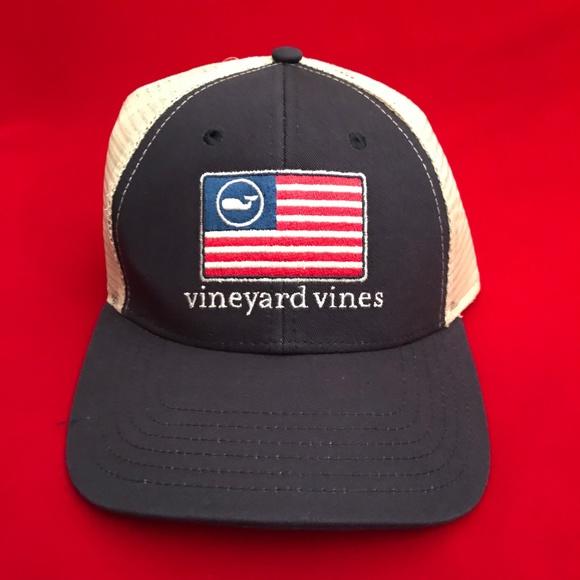 275181d881a American Flag Whale Flag Trucker Hat Unisex NWT